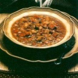 Boracho Bean Soup or Frijoles a la Charra (Restaurant Style)
