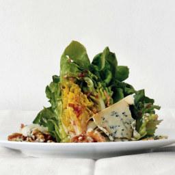 Boston Lettuce Wedges with Zinfandel Vinaigrette and Stilton