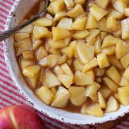 Cooked Cinnamon Apples