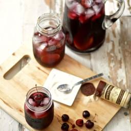 Bourbon Cherry Vanilla Sangria
