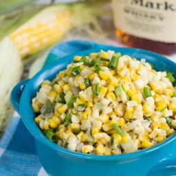 Bourbon Creamed Corn