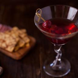 Bourbon Manhattan - a Classic Cocktail