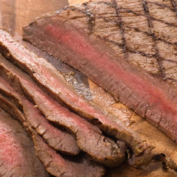 Bourbon-Marinated Flank Steak