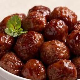 Bourbon Meatballs