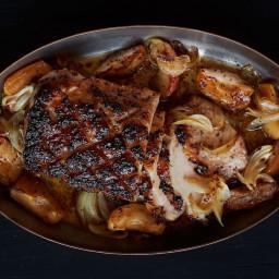 Bourbon-Roasted Pork Loin