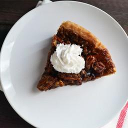 Bourbon Vegan Pecan Pie