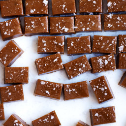Bourbon–Sea Salt Caramels