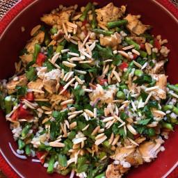 Bowl - Wild Rice and Chicken