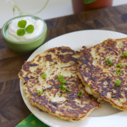 Boxty (Irish potato pancakes)