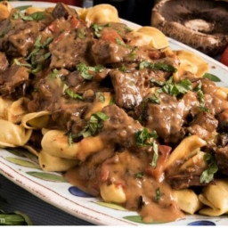 Braised Beef and Tortellini