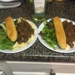 Braised Beef and Tortelloni (Olive Garden Copycat)