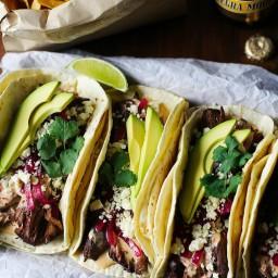 Braised Beef Tacodillas