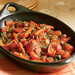 Braised Carrots and Shallots