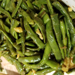 Braised green beans