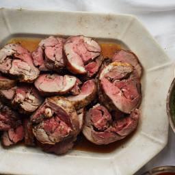 Braised Lamb with Rosemary and Garlic