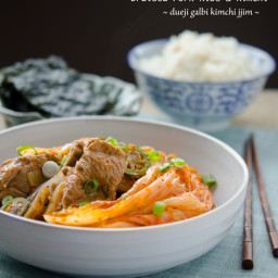 Braised Pork Ribs and Kimchi