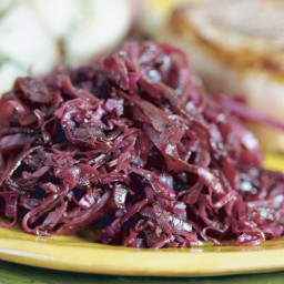 Braised Red Cabbage with Red Zinfandel