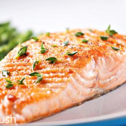 Braised Salmon