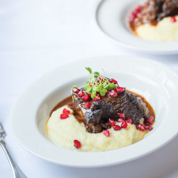 Braised Short Ribs with Celery Root Purée