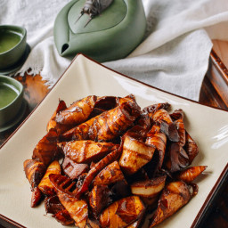 Braised Spring Bamboo Shoots