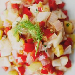 Braised Vegetable Hash