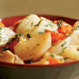 Braised Winter Vegetables
