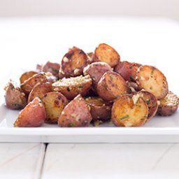 Braised Red Potatoes with Dijon and Tarragon