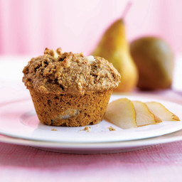 Bran Muffins with Pear