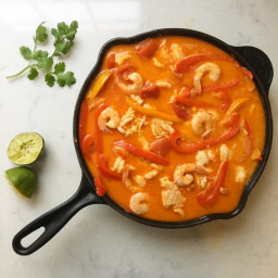 Brazilian Fish Stew. Moqueca