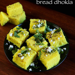bread dhokla recipe