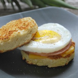 Bread in a Cup Egg Muffin