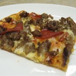 Bread Machine Thin Crust Pizza Dough