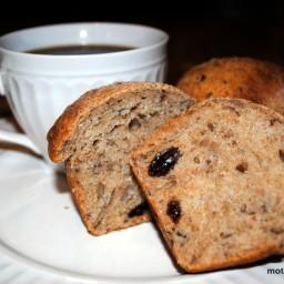 Bread Machine Whole Wheat Cinnamon Buns with Raisins
