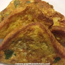 Bread Omelette Recipe | Bread Omelette Sandwich
