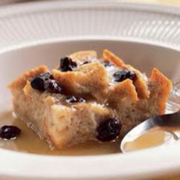 Bread pudding with a french flair