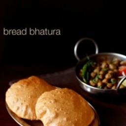 bread bhatura recipe