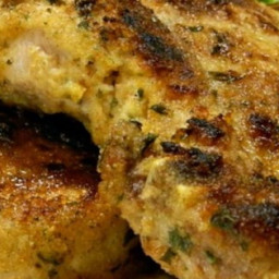 Breaded Lemon Zest Pork Chops Recipe
