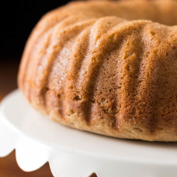 Breakfast Bundt Cake | Flavored with Apple and Peanut