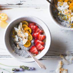 Breakfast Chia Pudding Bowl Recipe