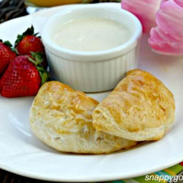 Breakfast Empanadas with Smoky Cheese Dip & Giveaway