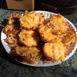 Breakfast Hashbrown Muffins
