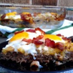 Breakfast Meatza