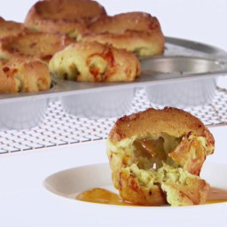 Breakfast Popovers with Italian Sausage