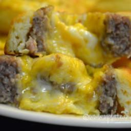 Breakfast Sausage Pinwheels