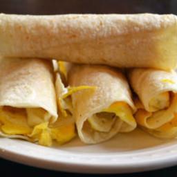 Breakfast Tortilla Roll