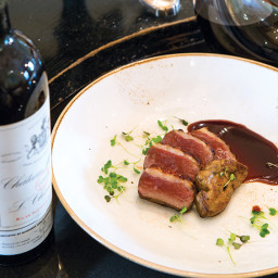 Breast of Duck with Blackberry Demi-Glace
