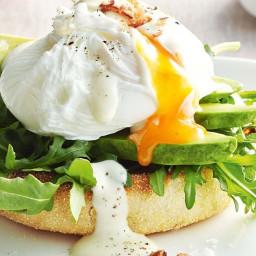 Brekkie eggs with Matt's instant mayo