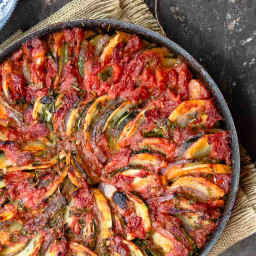 Briam: Traditional Greek Roasted Vegetables