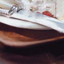 Brie fondant aux canneberges
