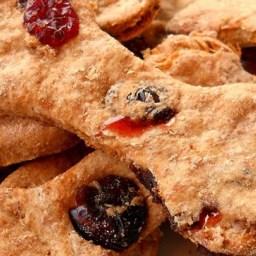 Brie's Turkey and Cranberry Dog Bones